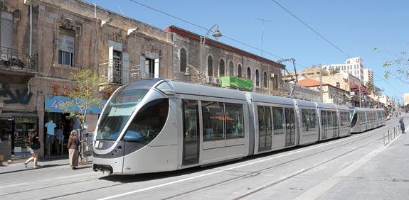 רכבת קלה ירושלים / צלם: איל יצהר